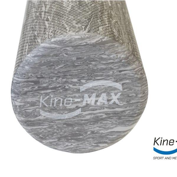 KineMAX Professional Massage Foam Roller masážní válec Eva Foam šedý 3 - kopie